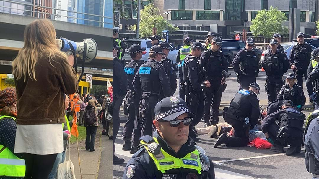 Article heading image for Extinction Rebellion Continues To Wreak Havoc In Melbourne As Activists Glue Themselves To Roads
