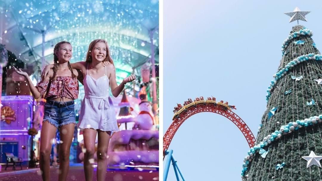 Article heading image for White Christmas At Movie World Is Back!
