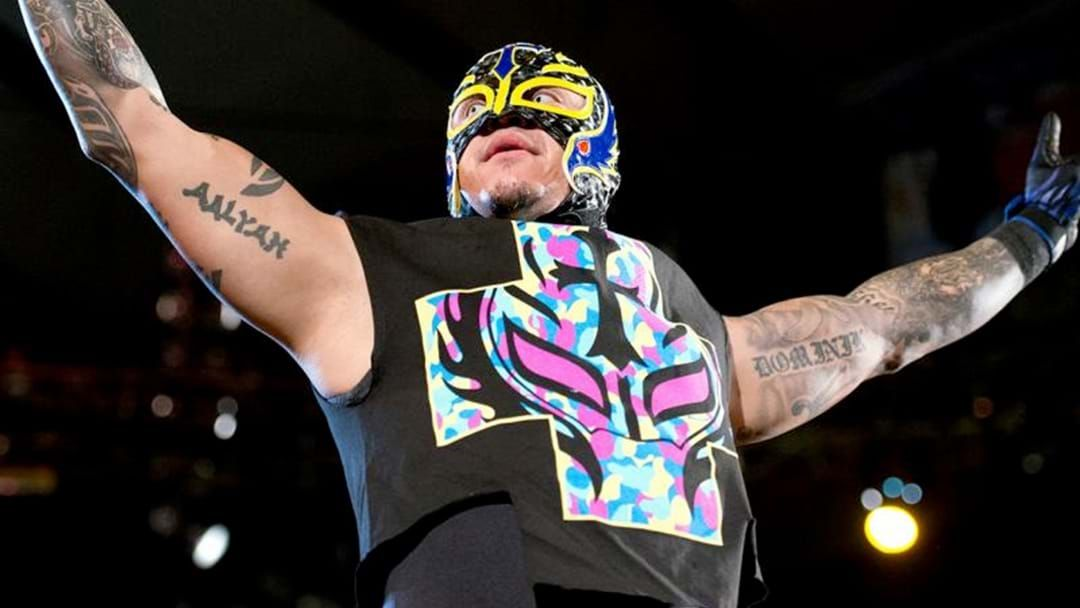 Article heading image for Rey Mysterio Has Returned To WWE
