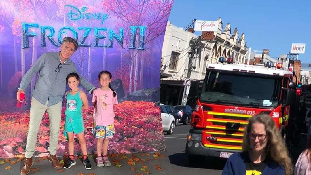 Article heading image for Hughesy and His Kids Evacuated During Frozen 2 Screening