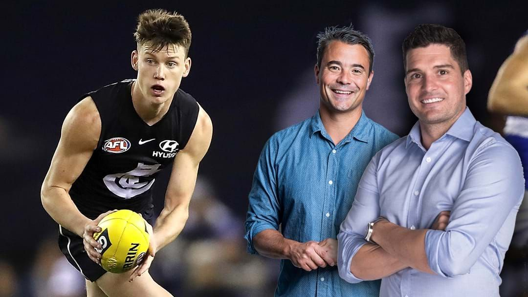 Article heading image for LISTEN | Leigh Montagna and Jay Clark Discuss Carlton's List And Their Next Few Years