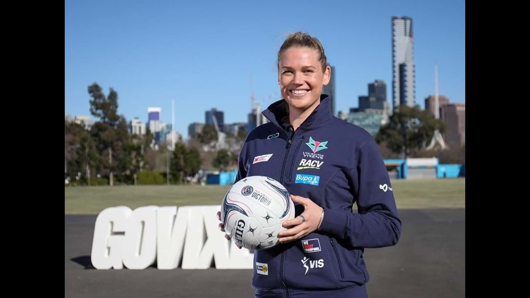Article heading image for Caitlin Thwaites Returns to Melbourne Vixens