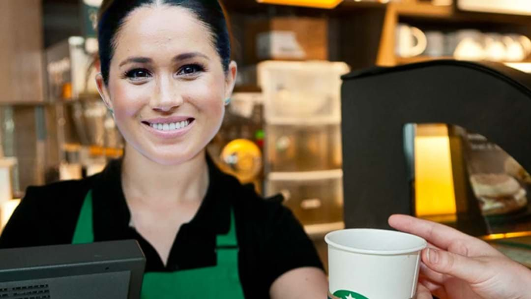 Article heading image for Exclusive: When Harry Met Meghan: Meghan Working Starbucks, Harry's An Uber Driver?