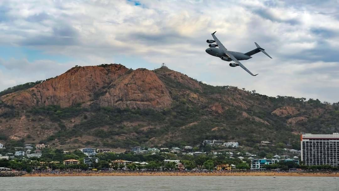 Article heading image for Globemasters Flying Low Over North Queensland Skies Today