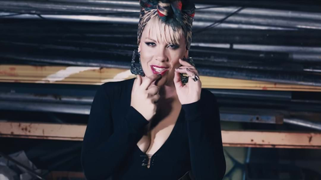 Article heading image for P!nk Shot A Film Clip In Australia And We Had No Idea!