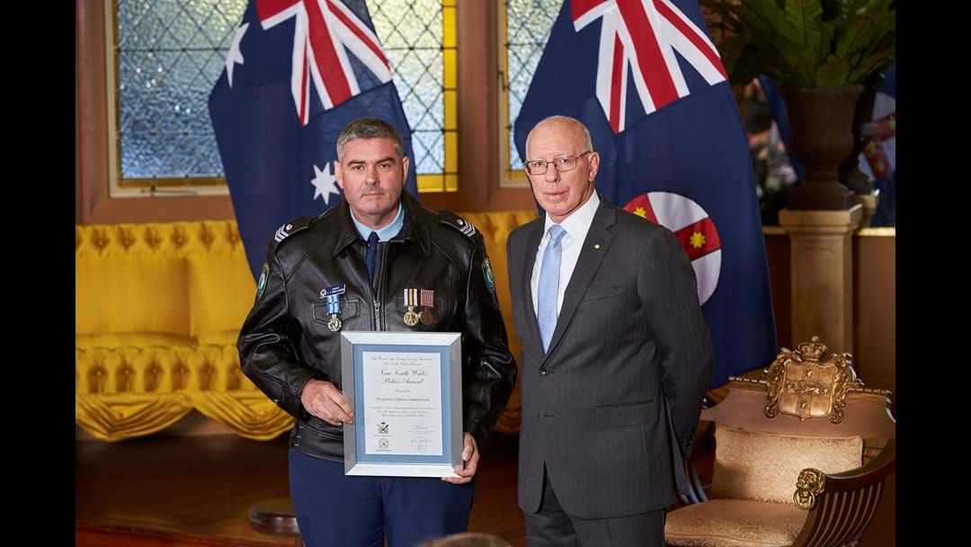 Article heading image for Kempsey Officer Recognised at Government House