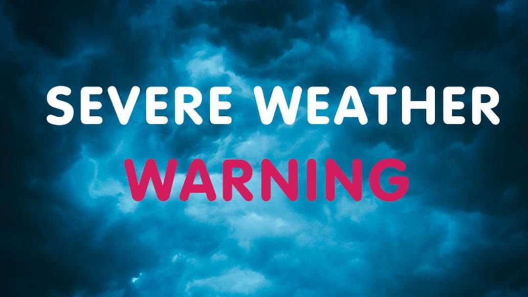 Article heading image for A Severe Weather Warning Has Been Issued Across The NSW Coast