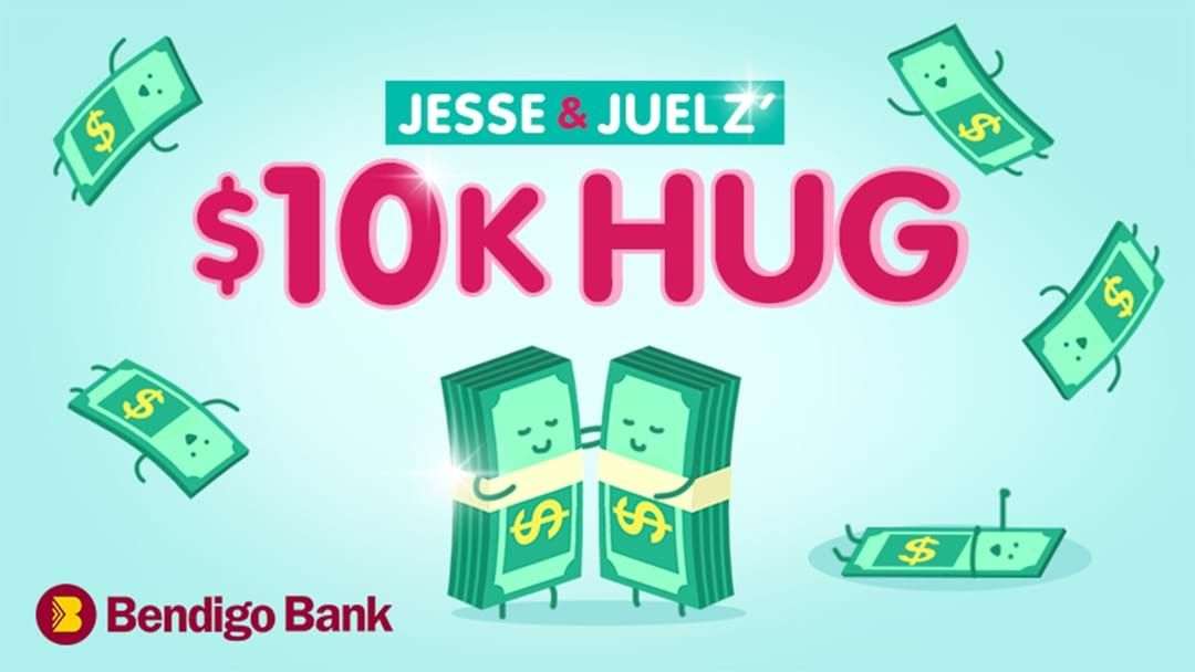 Article heading image for The winner of the $10k Hug is....