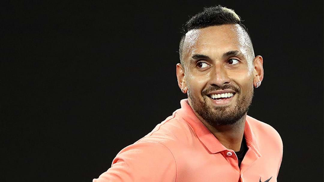 Article heading image for Nick Kyrgios Explains His Growth Over The Summer Of Tennis