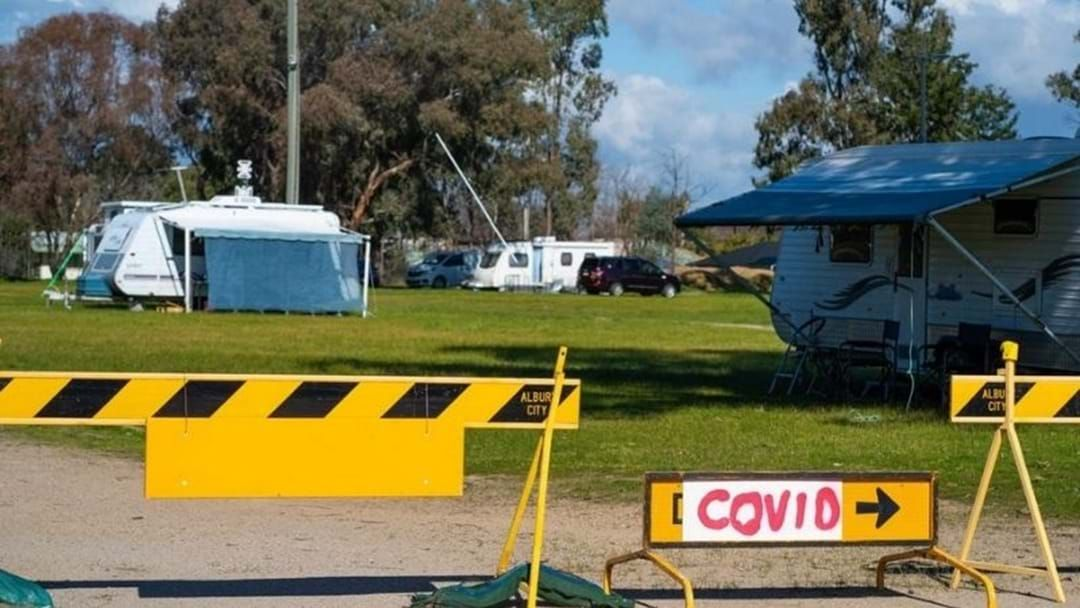 Article heading image for Displaced Victorians Quarantine At Albury Showgrounds