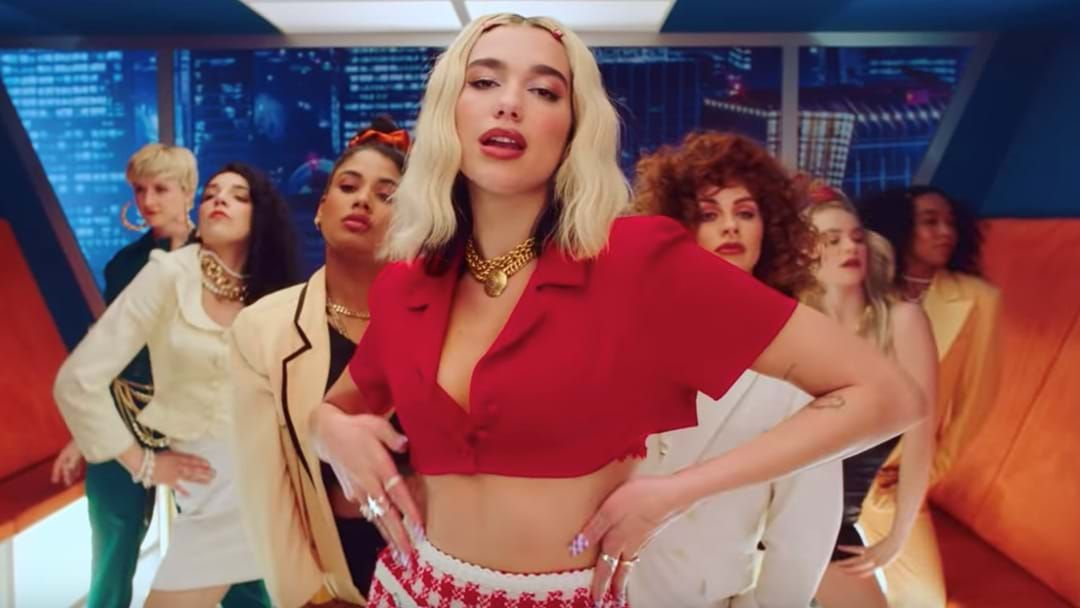 Article heading image for Dua Lipa Drops 80's Inspired Track Sampling Iconic INXS Song