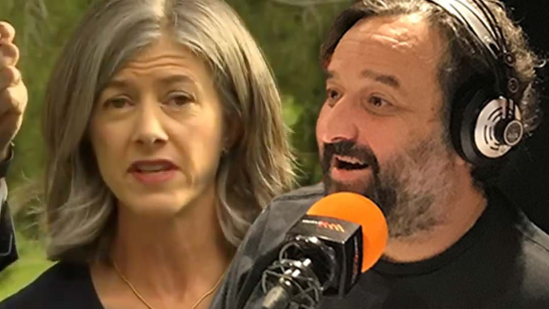 Article heading image for Mick Molloy Clowns South Australia CHO Nicola Spurrier Over Her Crows/Pies Comments!