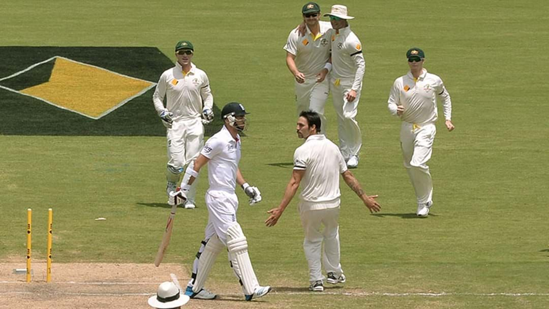 Article heading image for It's Five Years To The Day Since Mitch Johnson Ripped The Poms Apart In Adelaide