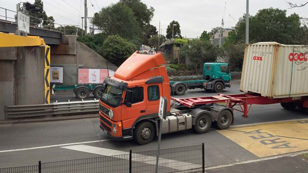 Article heading image for The Napier Street Bridge Has Returned To Layeth The Smacketh Down On This Poor Old Truck