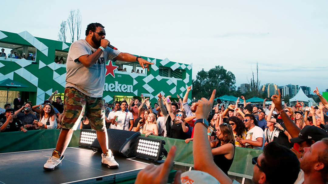 Article heading image for Here's The RNB Fridays Line-Up At The Formula 1 Rolex Australian Grand Prix