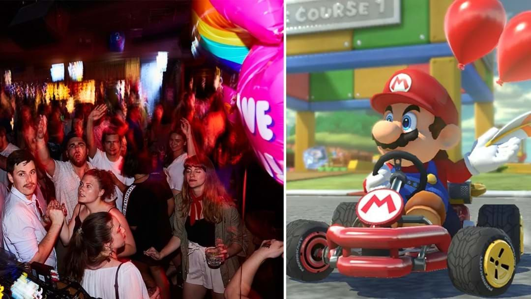 Article heading image for Sydney Is Now Hosting Mario Kart Tournaments At A Late Night Karaoke Bar