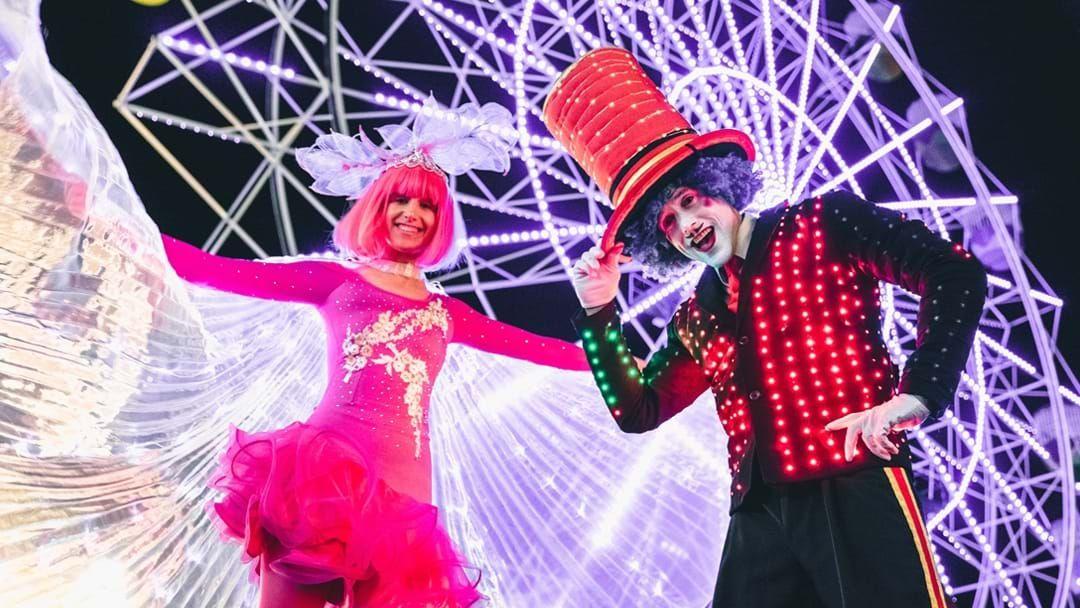 Article heading image for Luna Park Is Lit AF This Year For Vivid Sydney