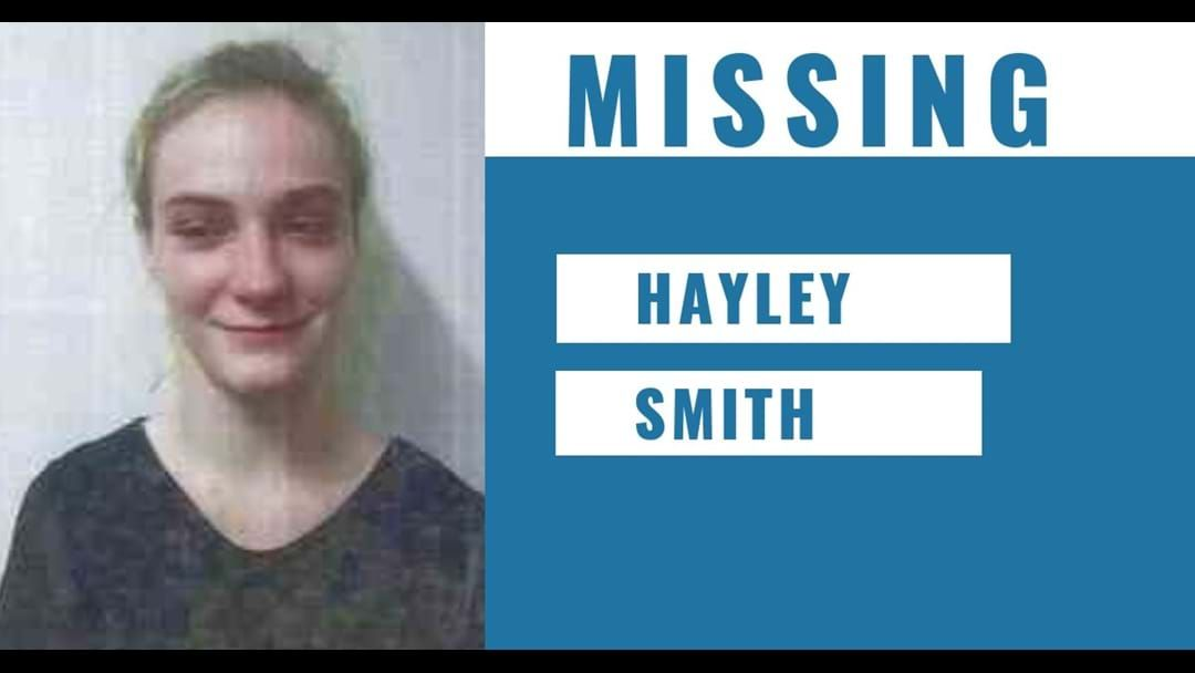 Article heading image for MISSING  ECHUCA TEEN HAYLEY SMITH