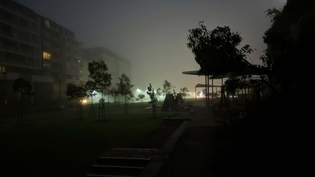 Article heading image for Sydney Is Covered With A Thick Blanket Of Fog This Morning
