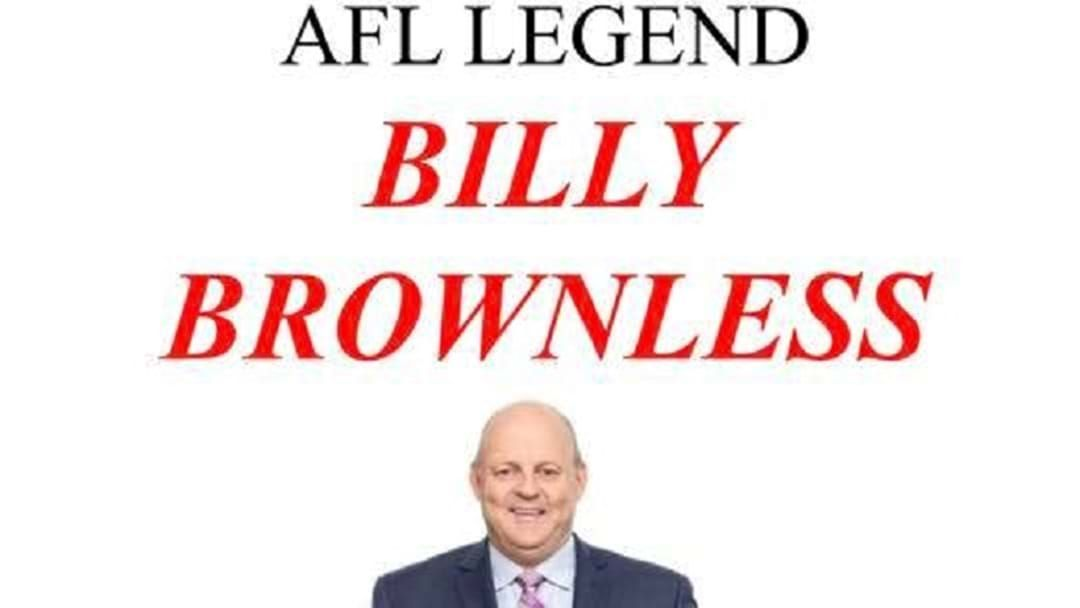 Article heading image for Billy Brownless is coming to Esperance!