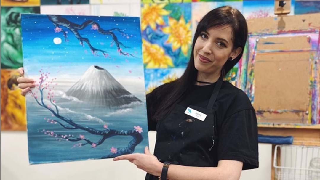 Article heading image for Cork & Canvas Is Now Offering Online Classes With Home Art Kits Available!
