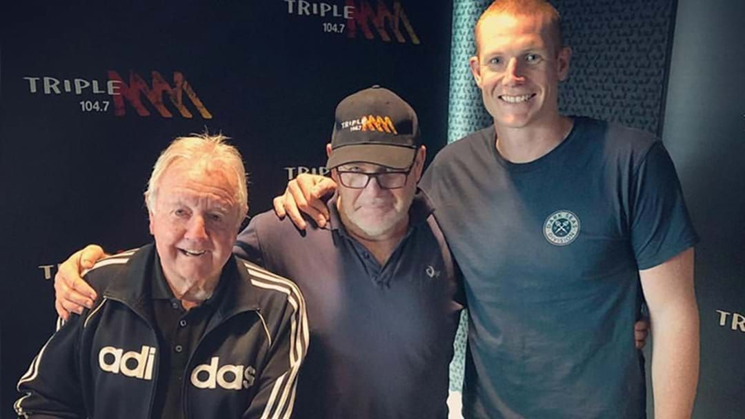 Article heading image for KG Farewells Triple M