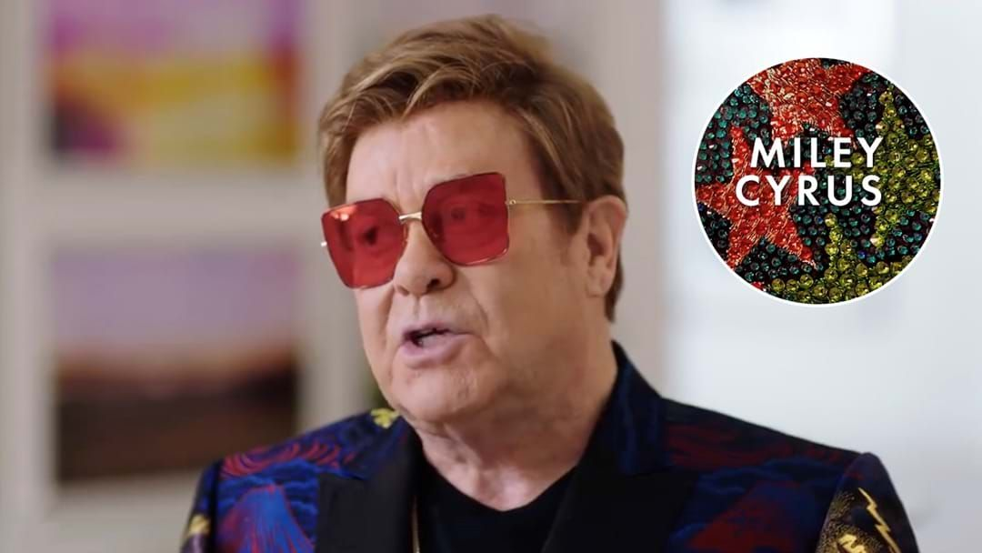 Article heading image for Elton John Teases Collabs With Miley Cyrus, Lil Nas X And More!