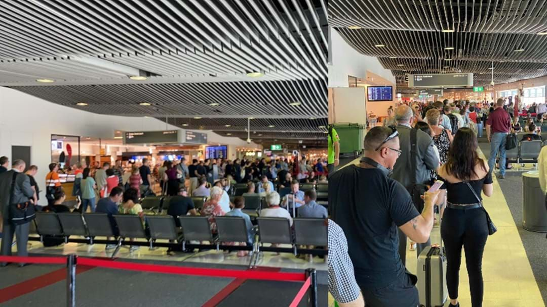 Article heading image for Major Delays At Brisbane Airport Following Power Outage