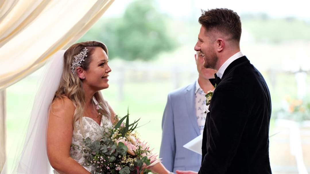 Article heading image for MAFS Wedding Guest Reveals What Filming The Ceremony Is Actually Like