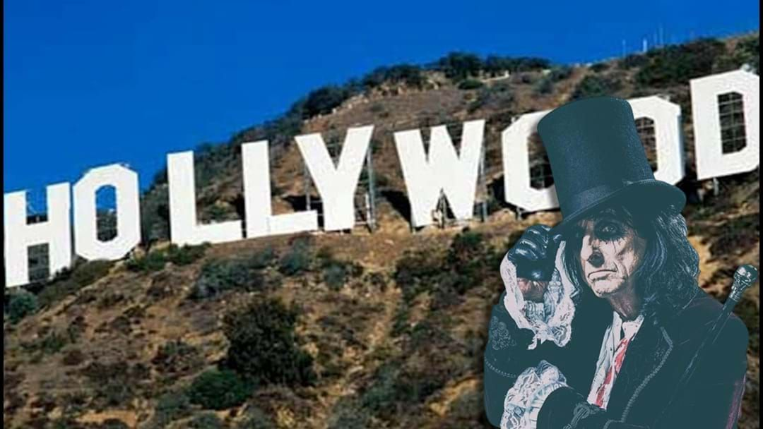 Article heading image for Alice Cooper Owns An O In The Hollywood Sign