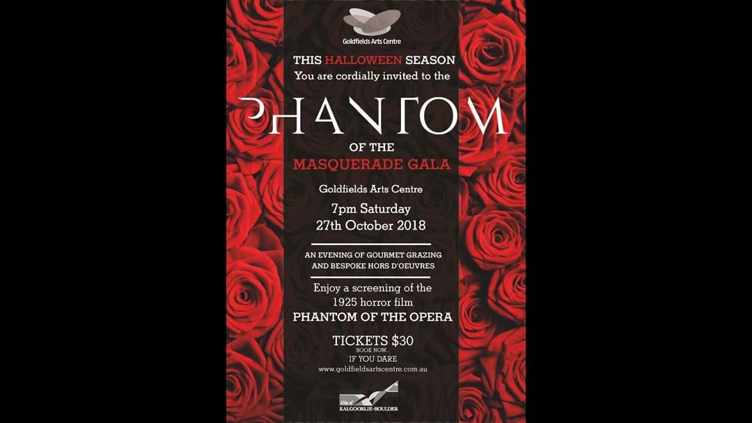Article heading image for The Phantom is here......