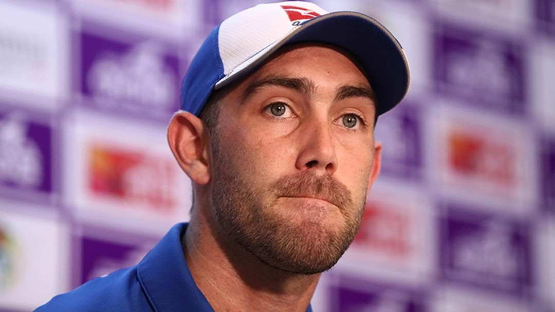 Article heading image for Glenn Maxwell Explains How He's Managing His Mental Health