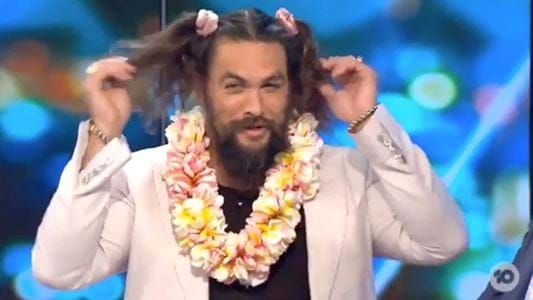Here's The Reason Jason Momoa Had Two PIGTAILS In His Hair