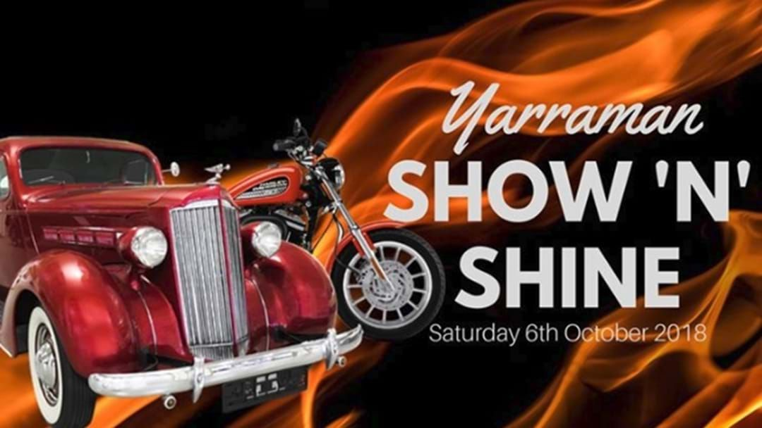 Article heading image for Yarraman Show 'n' Shine