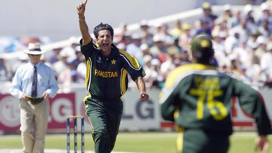 Article heading image for Wasim Akram Reveals The Toughest Australian Batsman He's Ever Bowled To