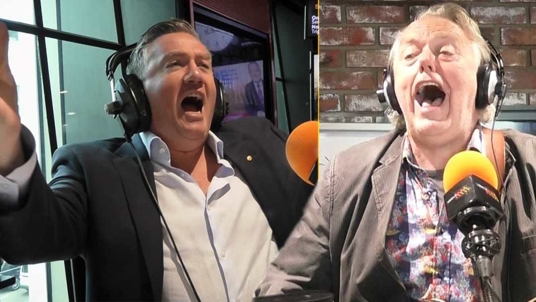 Article heading image for Eddie & Mike Brady Belt Out 'Up There Cazaly'!