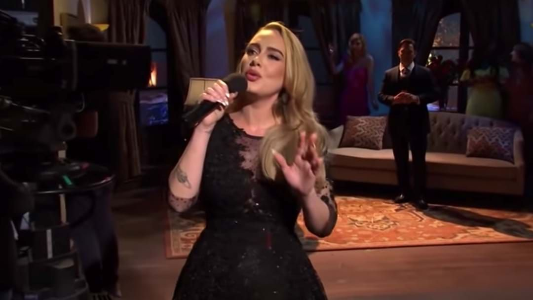 Article heading image for Adele DID End Up Performing As The Host Of SNL And It Was Magical!