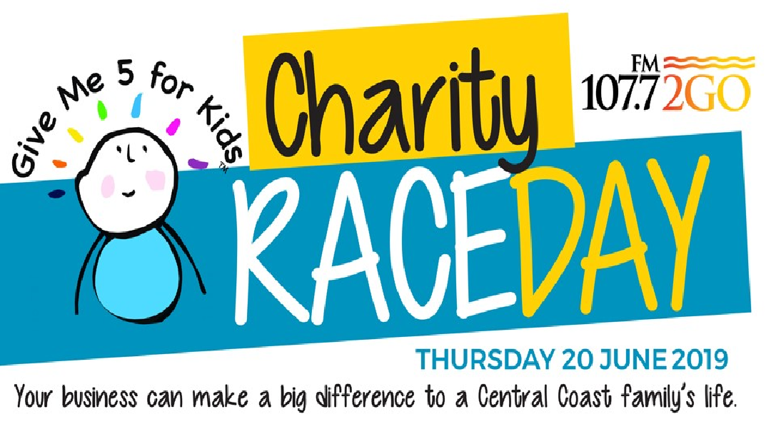 Article heading image for Give Me 5 For Kids Charity Race Day