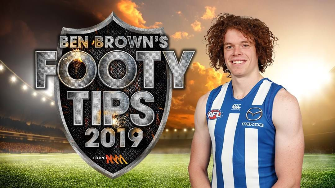 Article heading image for Ben Brown's Footy Tips