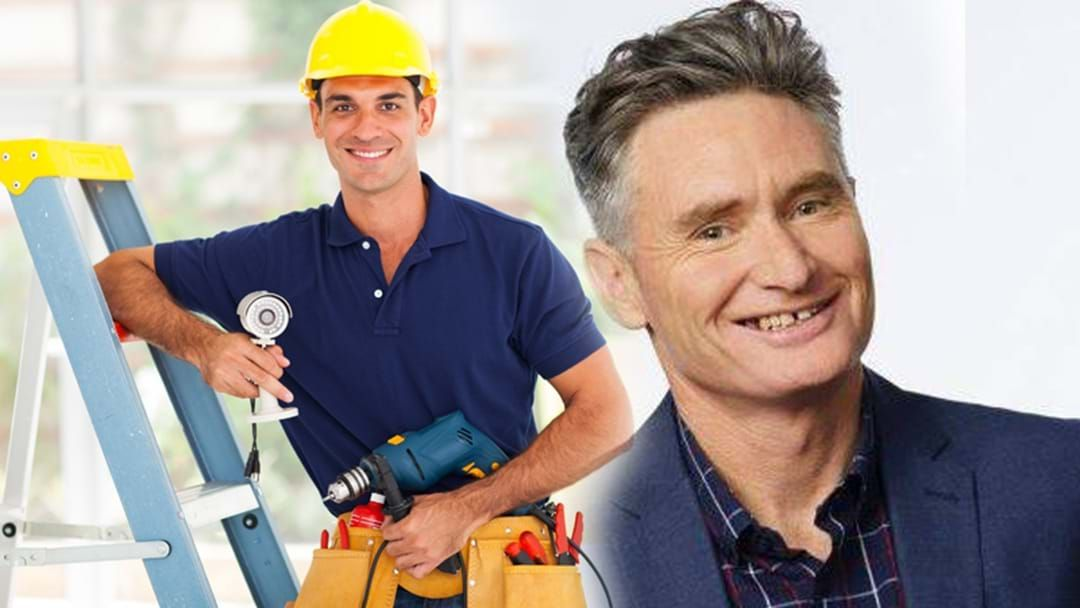 Article heading image for A Tradie Saved Hughesy's Life After He Had A Problem With His Gas!
