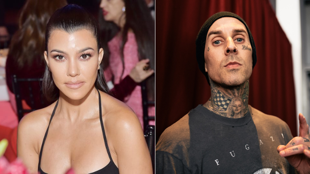 Article heading image for Kourtney Kardashian Makes Things Instagram Official With Blink-182's Travis Barker