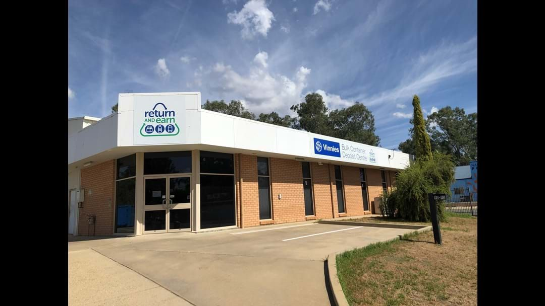 Article heading image for Drive through, bulk container deposit to open in Wagga