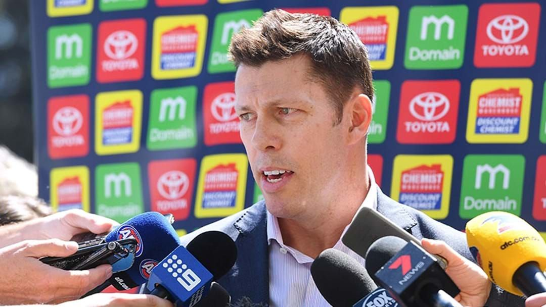Article heading image for Crows CEO Andrew Fagan Explains The Personnel Changes At The Club