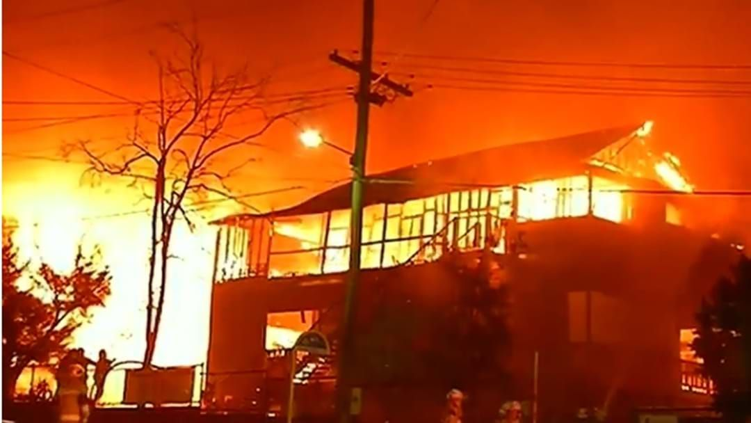 Article heading image for Suss Fire Guts A Quarter Of Heritage Listed Morningside State School