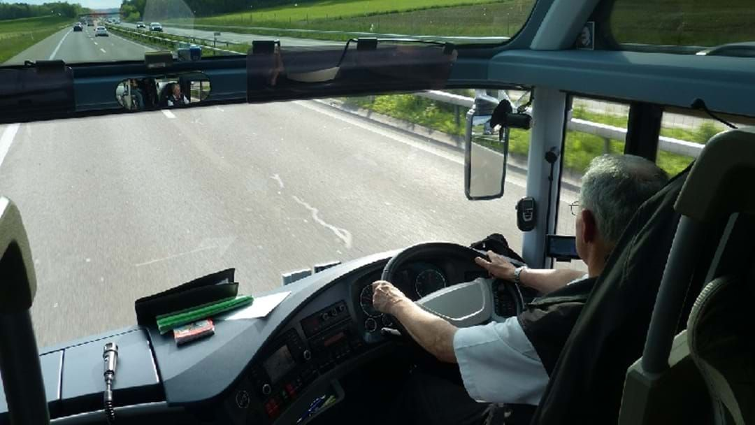 Article heading image for Passengers Take Wheel Of Out-Of-Control Bus On The M1