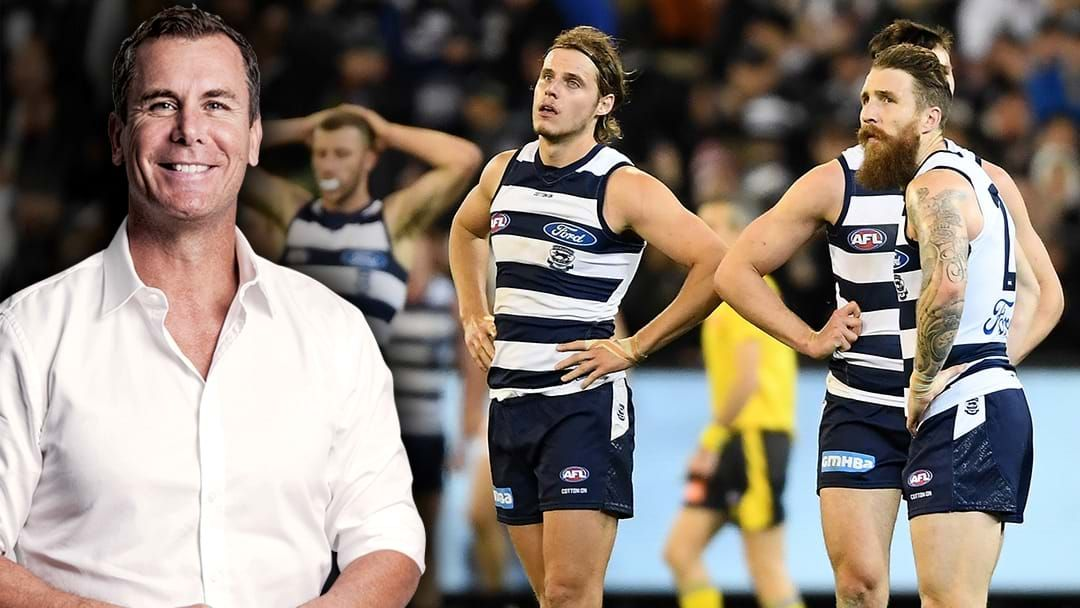 Article heading image for LISTEN | Wayne Carey Says Geelong Play The Most Boring Footy In The Competition
