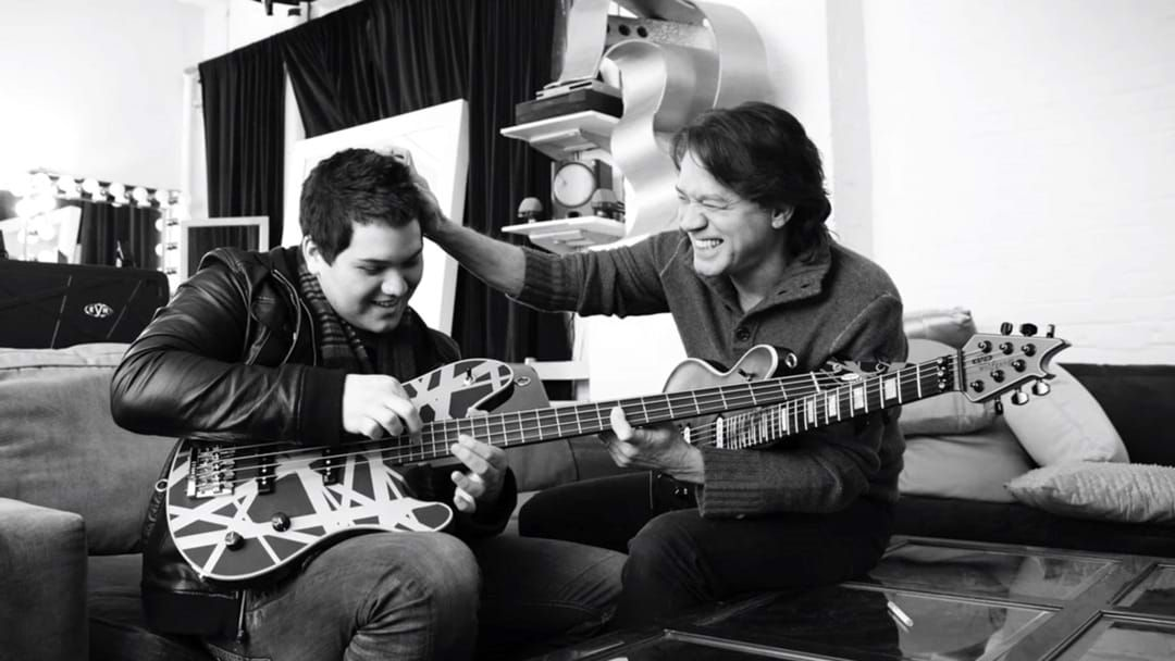 Article heading image for Eddie Van Halen's Son Wolfgang Has Shared Personal Home Videos With New Single Release
