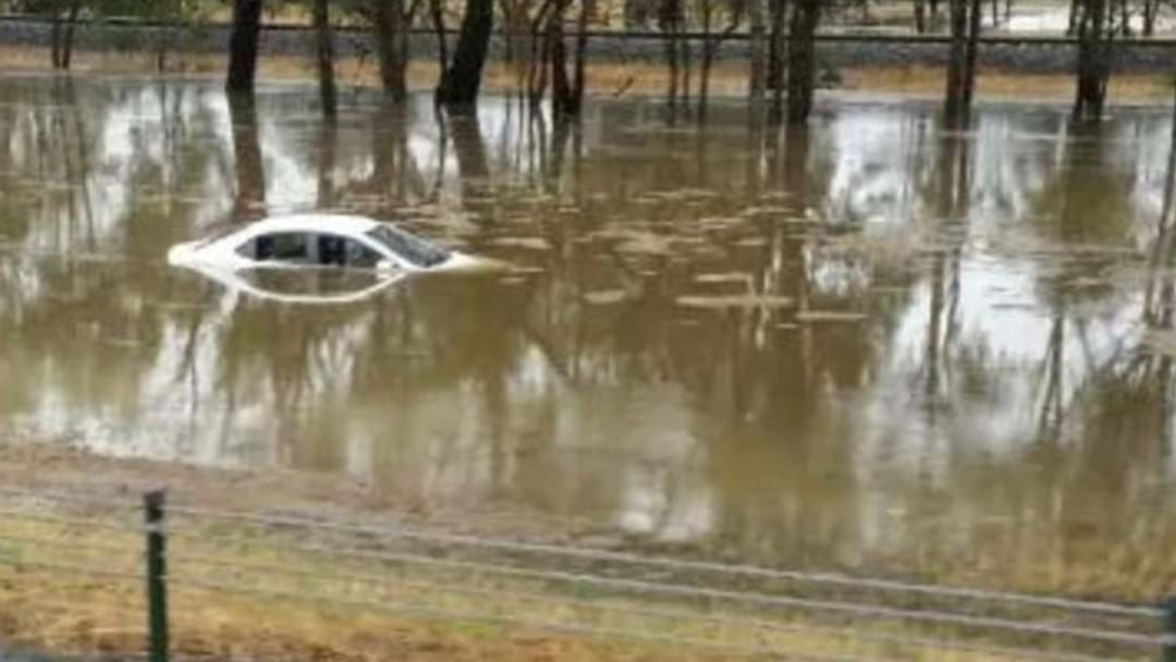 Article heading image for Cops Had To Rescue People From Floods On The Highway Between Melbourne And Sydney