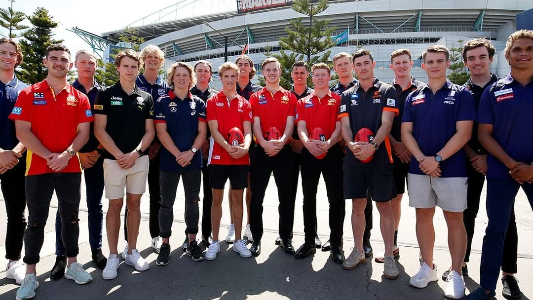 Article heading image for Every Pick Of The 2019 AFL Draft