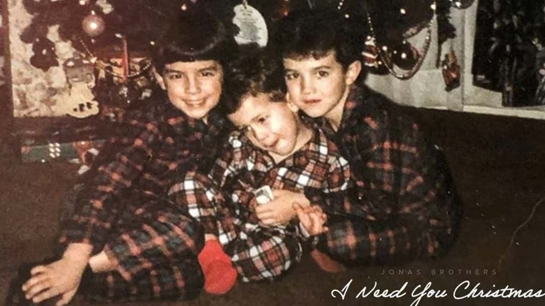 Article heading image for The Jonas Brothers Have Dropped A Christmas Song To Make 2020 All Better